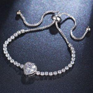 Jewelry - COMING SOON HEART Tennis Bracelet Crystals CZ